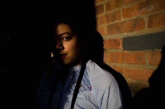 Aisha in shadows