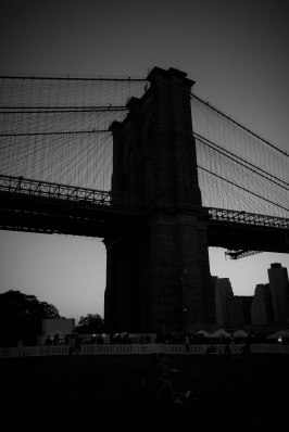 Brooklyn bridge(BW)